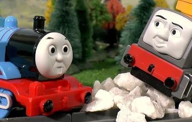 托莫斯小火车又搞破坏卡通动画